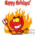 Happy Holidays with Devil and Fire