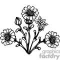 74-flowers-bw