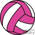 volleyball pink and white gif, png, jpg, eps, svg, pdf