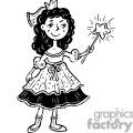 princess with wand