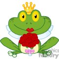 cartoon-bride-frog-character  gif, png, jpg, eps, svg, pdf