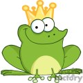 Cartoon-Frog-Prince-Character