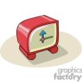 Cartoon toy alarm clock