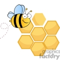 bee and his honeycomb