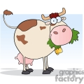 cow eating gif, png, jpg, eps, svg, pdf