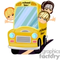 kids riding a school bus gif, png, jpg, eps, svg, pdf