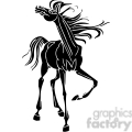 wild horse gif, png, jpg, eps, svg, pdf