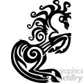 tribal horse design