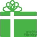 green christmas gift gif, png, jpg, eps, svg, pdf
