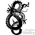 chinese dragons 018 vector clip art image