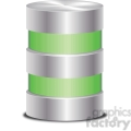vector database icon holding data