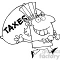 102522-cartoon-clipart-uncle-sam-runs-and-aarries-a-bag-of-money