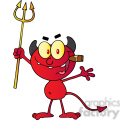1926-Little-Red-Devil-Holding-Up-A-Pitchfork-And-Smoking-A-Cigar