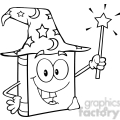 royalty-free-rf-copyright-safe-wizard-book-cartoon-character-holding-a-magic-wand  gif, png, jpg, eps, svg, pdf