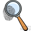 Royalty-Free-RF-Copyright-Safe-Magnifying-Glass-With-Fingerprint