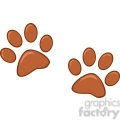 Royalty-Free-RF-Copyright-Safe-Brown-Paw-Prints