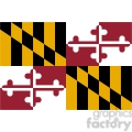 vector-state-Flag-of-Maryland