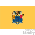 vector state flag of new jersey  gif, png, jpg, eps, svg, pdf