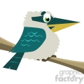 cartoon Kookaburra bird
