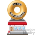 retro doughnut shop