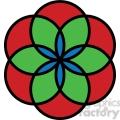 flower symbol 002  gif, png, jpg, eps, svg, pdf