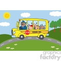 5052-clipart-illustration-of-school-bus-heading-to-school-with-happy-children  gif, png, jpg, eps, svg, pdf