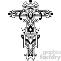 cross clip art tattoo illustrations 040
