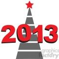 2013 New Year tree