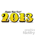 2013 happy new years 002  gif, png, jpg, eps, svg, pdf