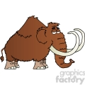5109-Mammoth-Cartoon-Character-Royalty-Free-RF-Clipart-Image