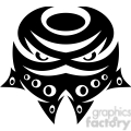 tribal masks vinyl ready art 033  gif, png, jpg, eps, svg, pdf
