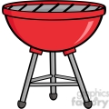 Royalty-Free-RF-Clipart-Red-Barbecue