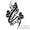 chinese swirl floral design 024  gif, png, jpg, eps, svg, pdf