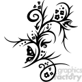 chinese swirl floral design 005  gif, png, jpg, eps, svg, pdf