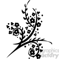 chinese swirl floral design 016  gif, png, jpg, eps, svg, pdf
