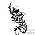 chinese swirl floral design 066  gif, png, jpg, eps, svg, pdf