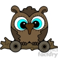 Pull Toy Owl 3 color