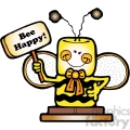 smore bee happy col  gif, png, jpg, eps, svg, pdf