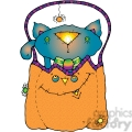 Cat In Pumpkin COL