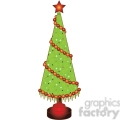 Christmas Tree Cone 02 clipart