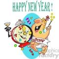 happy new year party celebration