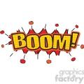boom burst onomatopoeia clip art vector images vector clip art image