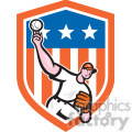 pitcher throw ball frnt exagg in shield shape  gif, png, jpg, eps, svg, pdf