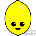 lemon cartoon character cute