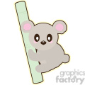 cartoon koala illustration clip art image