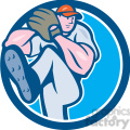 pitcher throw leg up circ  gif, png, jpg, eps, svg, pdf