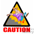 caution stairs sign with man falling  gif, png, jpg, eps, svg, pdf