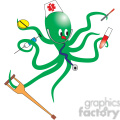 green nurse octopus