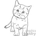 kitten vector RF clip art images