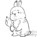 rabbit late